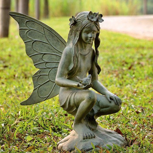 Image of: Outdoor Cool Garden Statues
