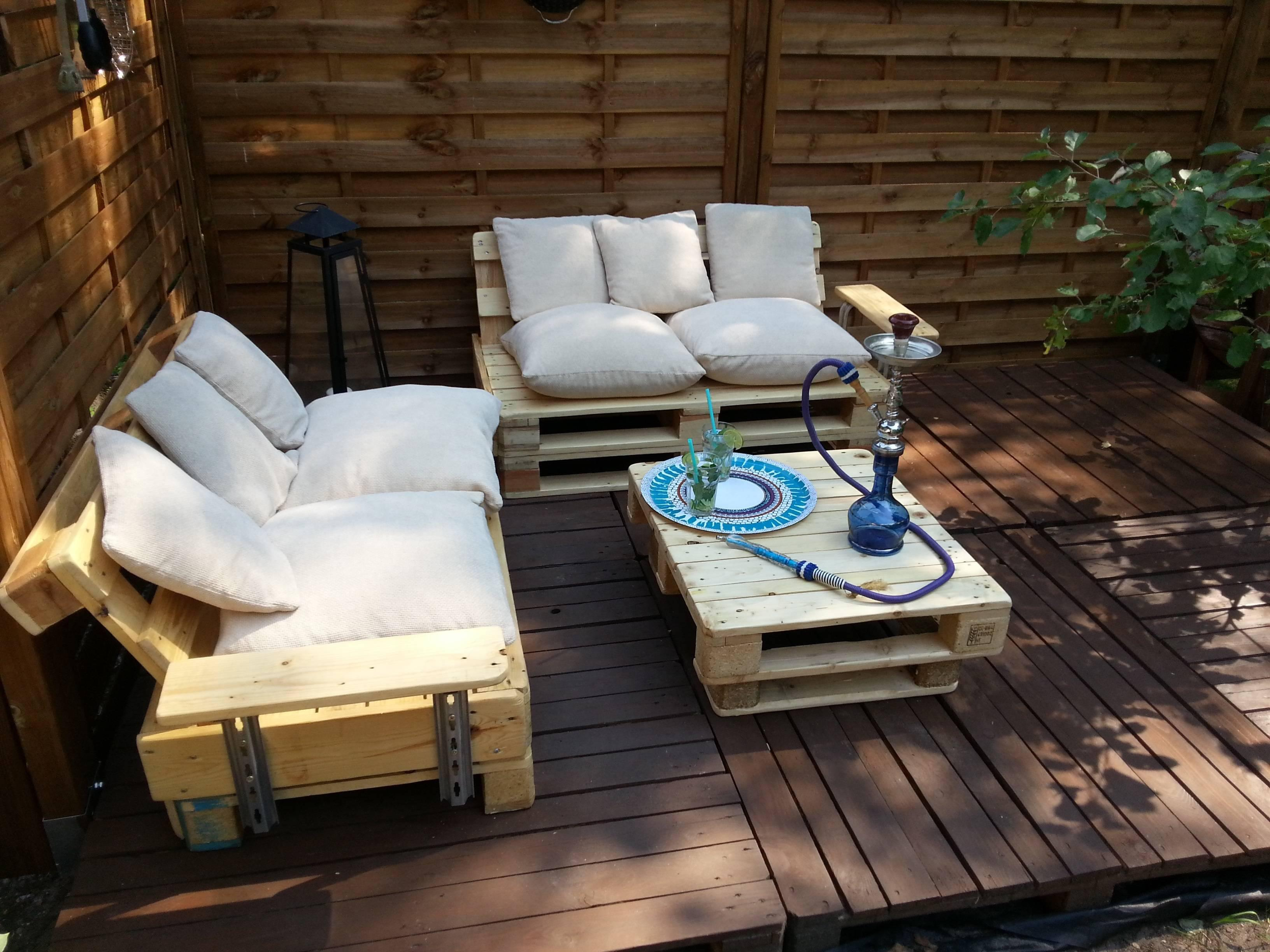 Image of: Outdoor Furniture Ideas Diy