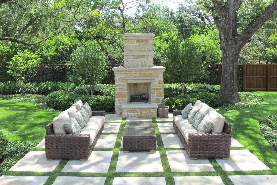 Image of: Outdoor Garden Design Style