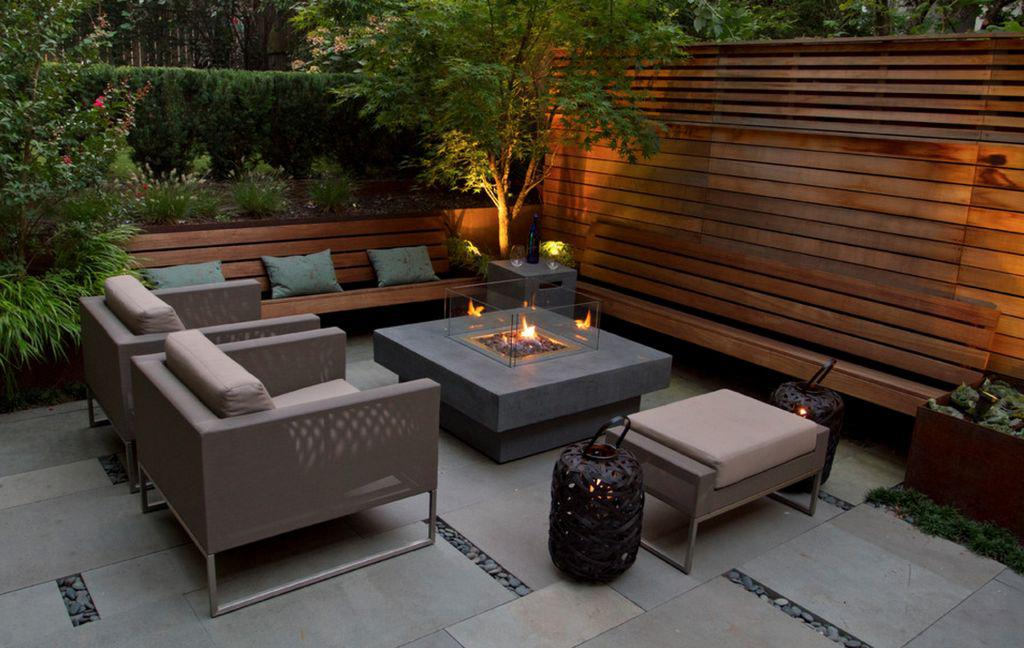 Image of: Outdoor Garden Seating Ideas