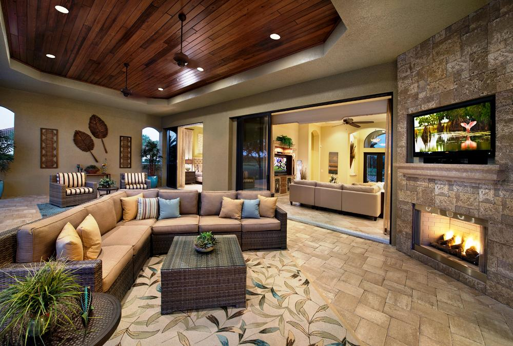Image of: Outdoor Living Room Furniture Design
