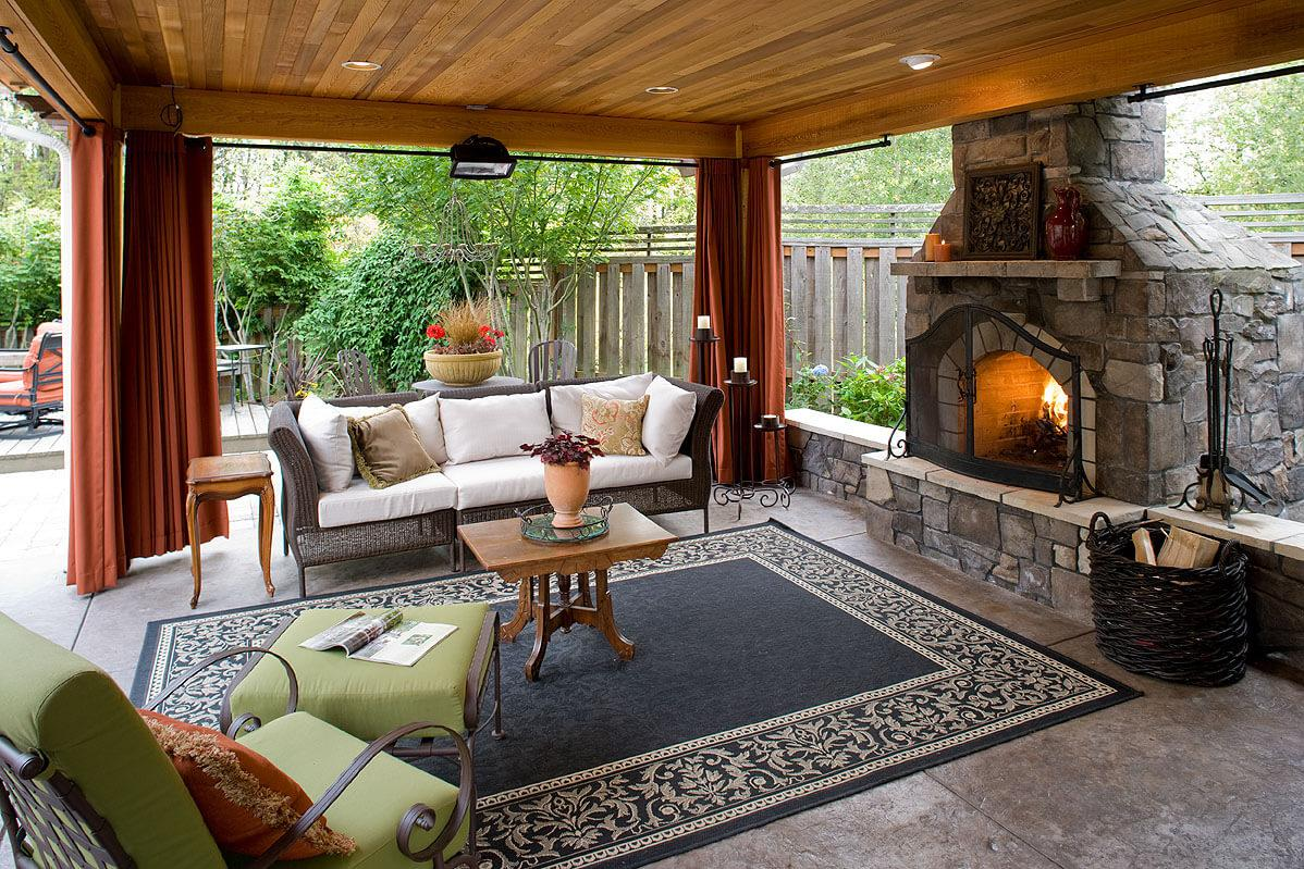 Image of: Outdoor Living Room