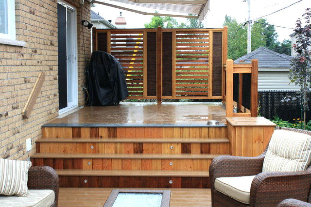 Image of: Outdoor Privacy Screen Ideas For Decks