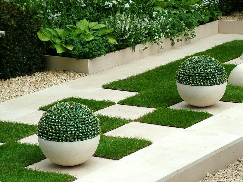 Image of: Outdoor Room Garden Design