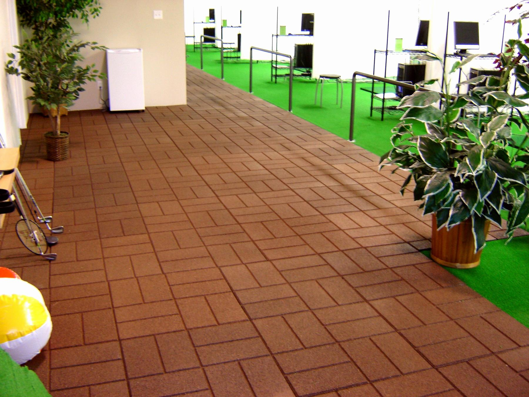 Image of: Patio Flooring Ideas On A Budget