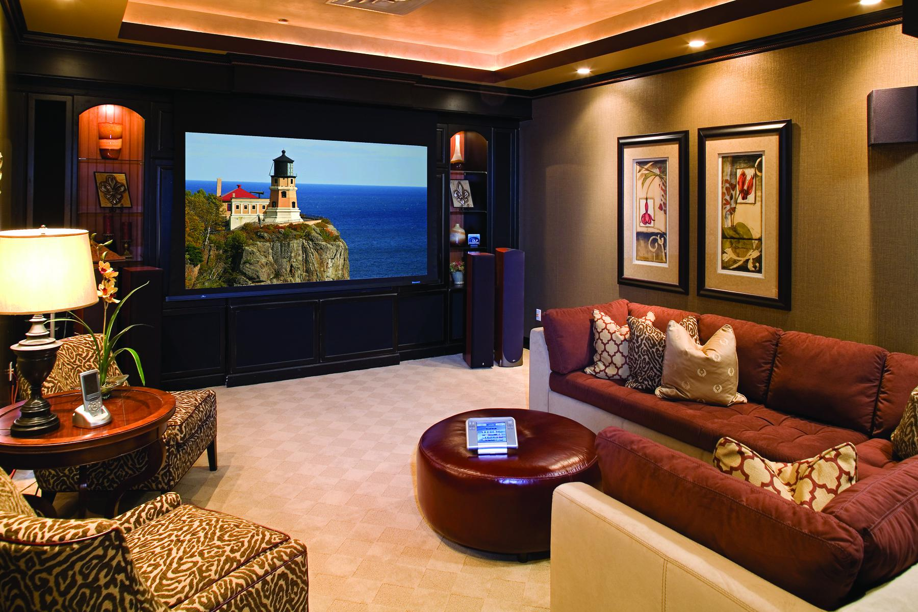 Pictures Of Home Movie Theater
