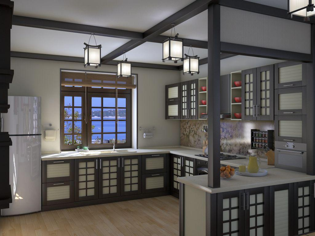 Image of: Pictures Of Japanese Kitchens