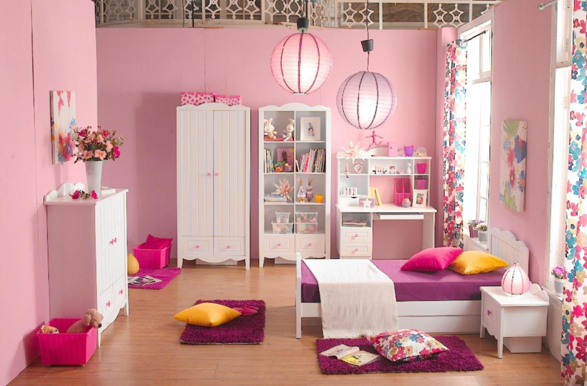 Image of: Pink Girls Room Ideas