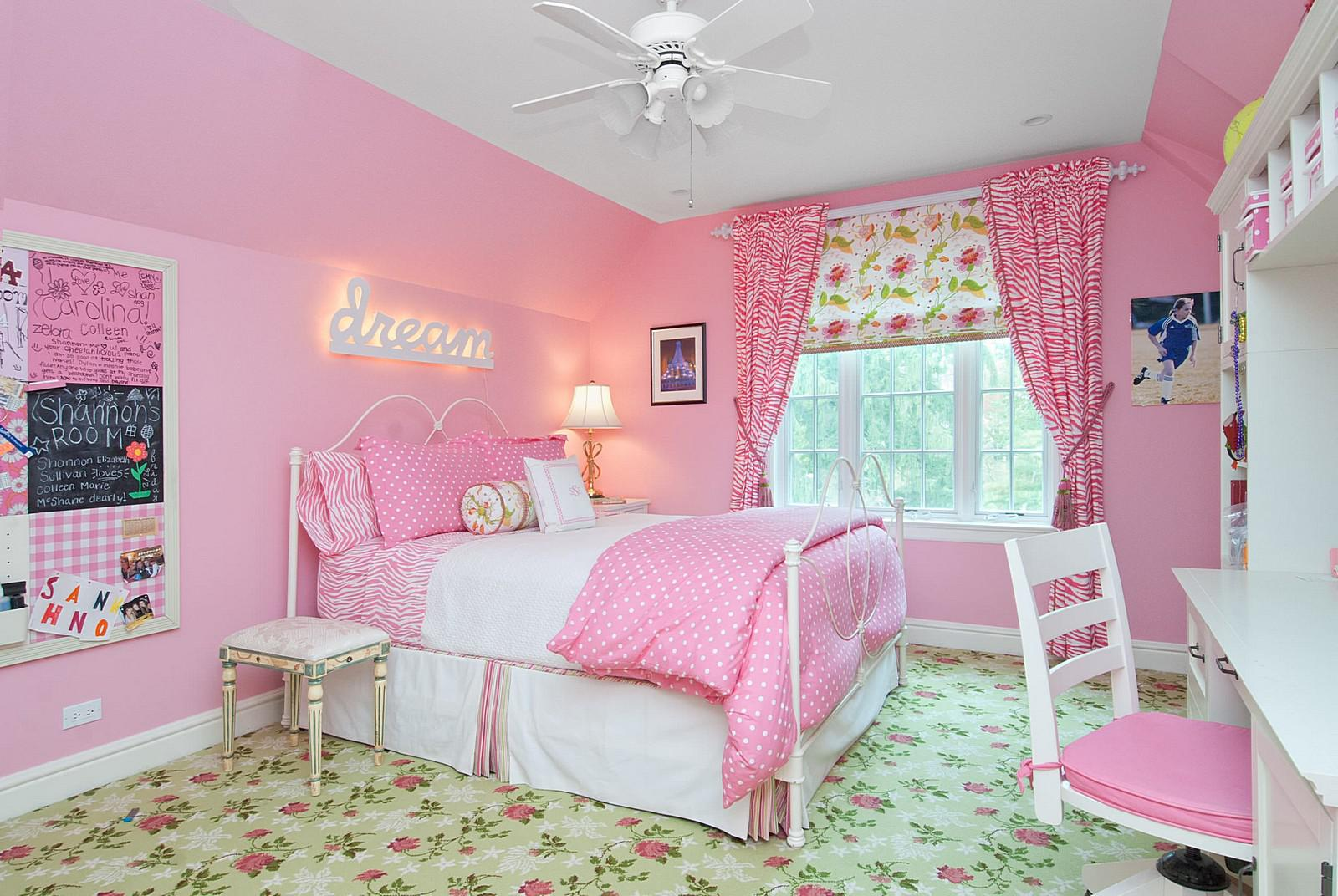 Image of: Pink Girls Room