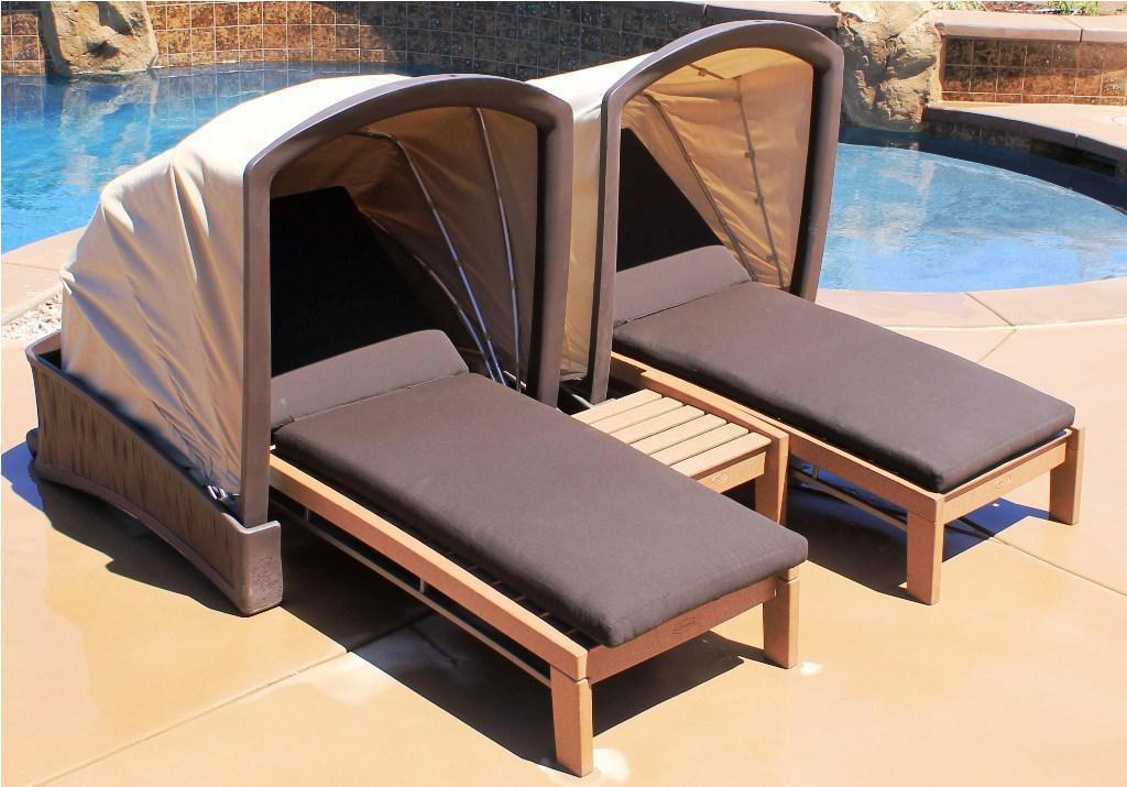 Image of: Poolside Chaise Lounge