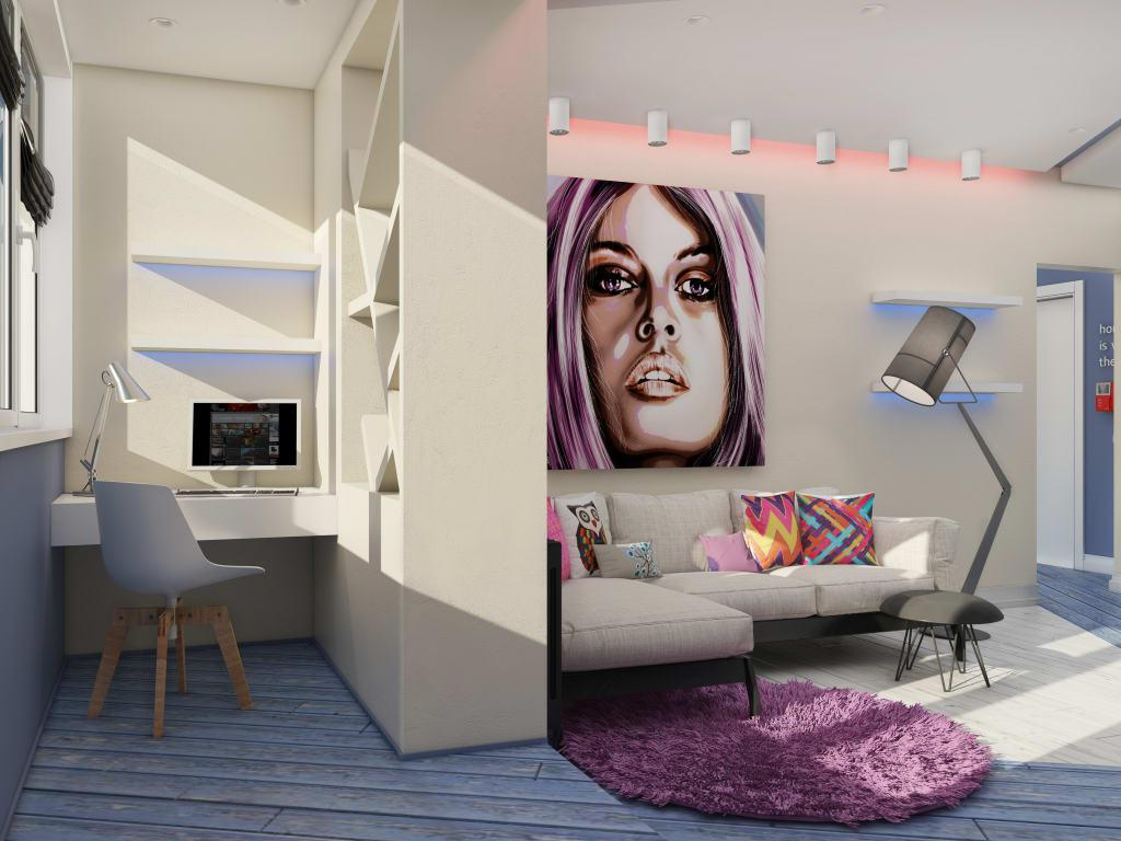 Image of: Pop Art Interior Decor