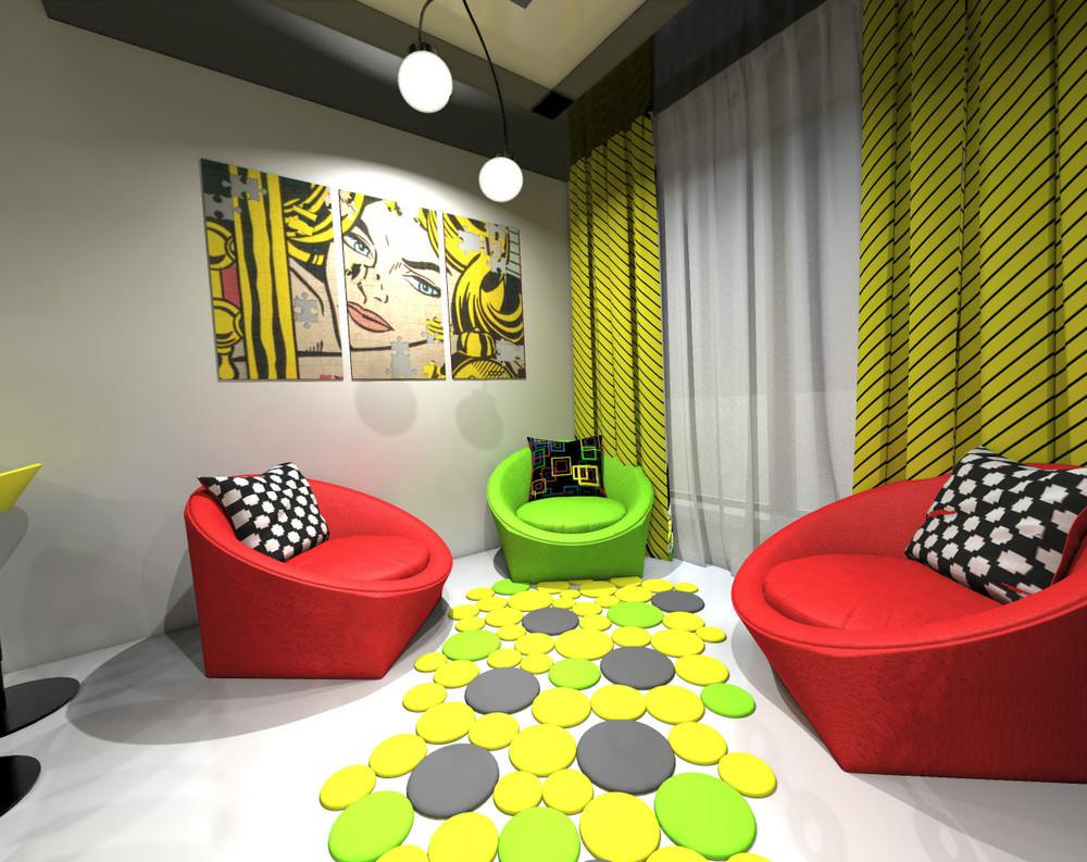 Image of: Pop Art Interior Design Ideas