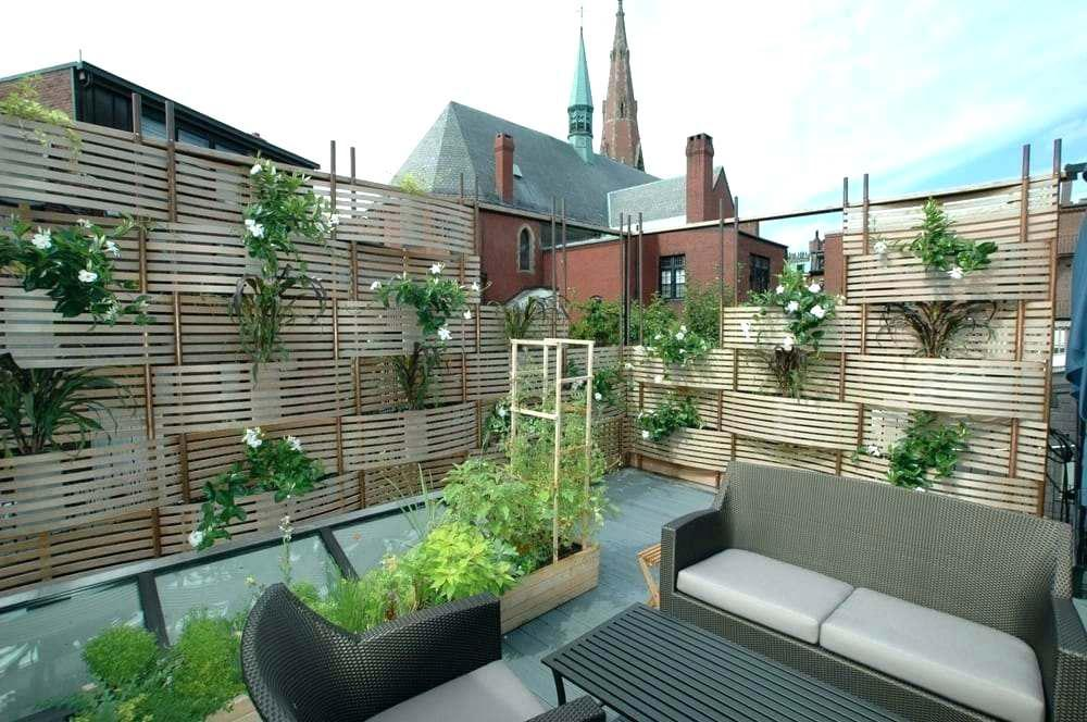 Image of: Privacy Ideas For Deck