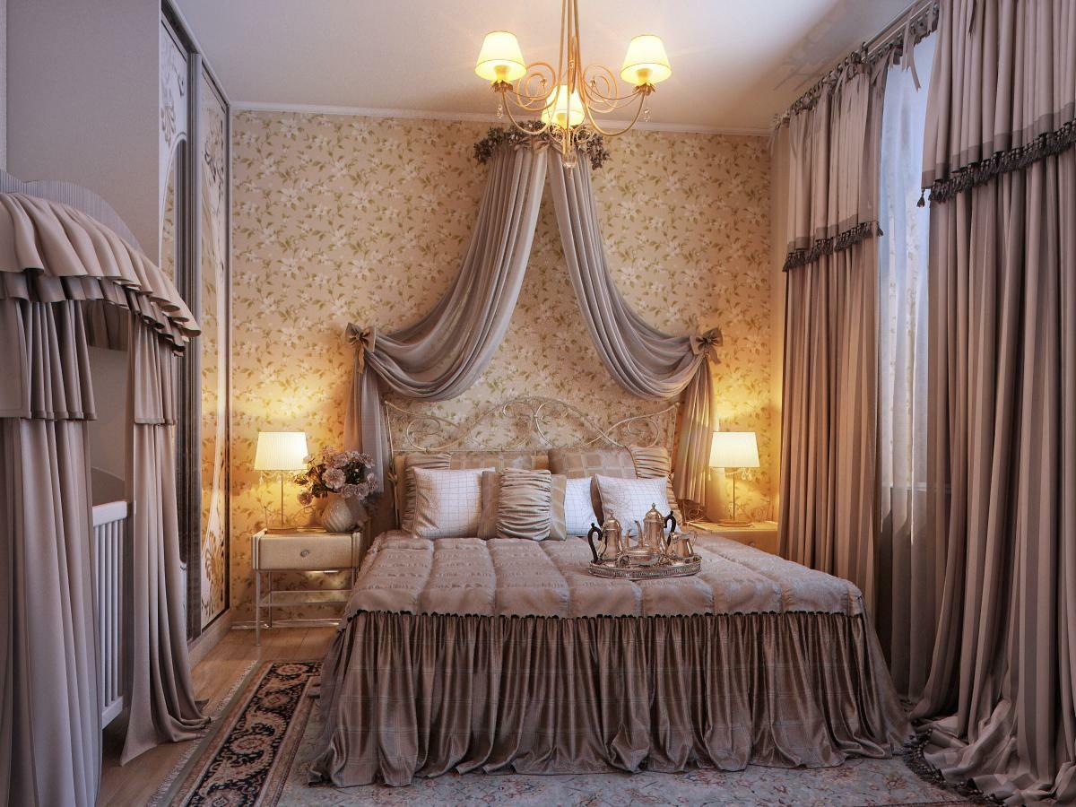 Image of: Romantic Bedroom Color Design