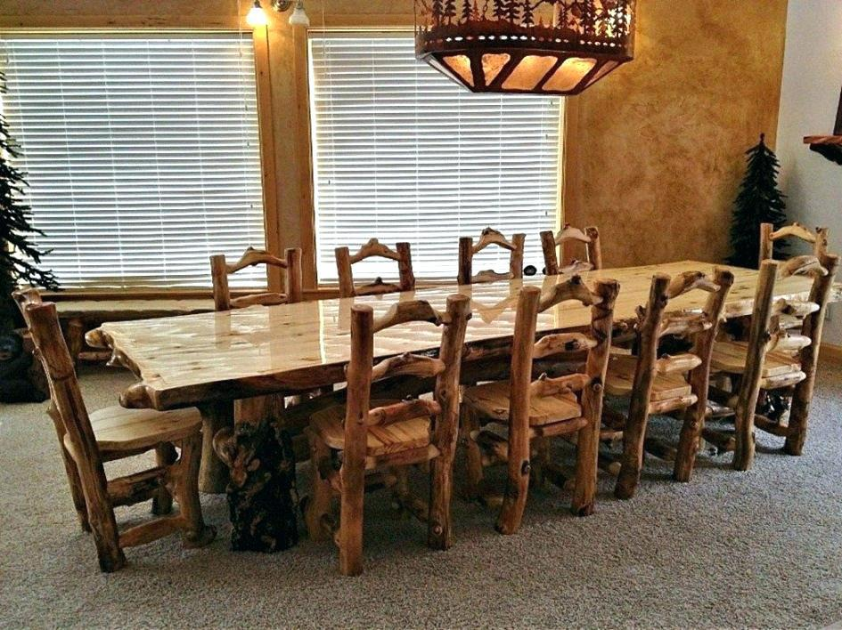 Image of: Rustic Dining Room Tables Sets