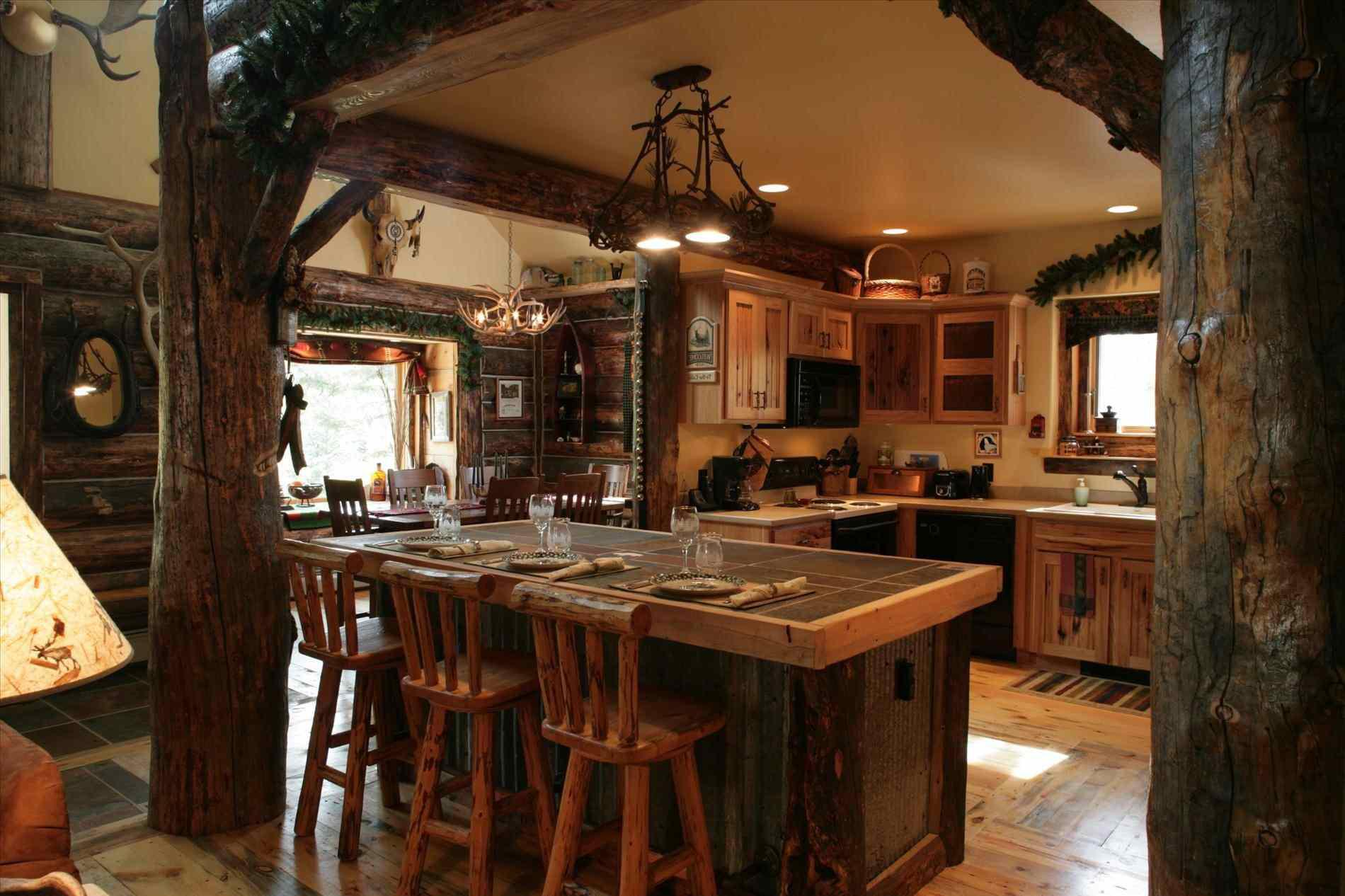 Image of: Rustic Home Bar Designs