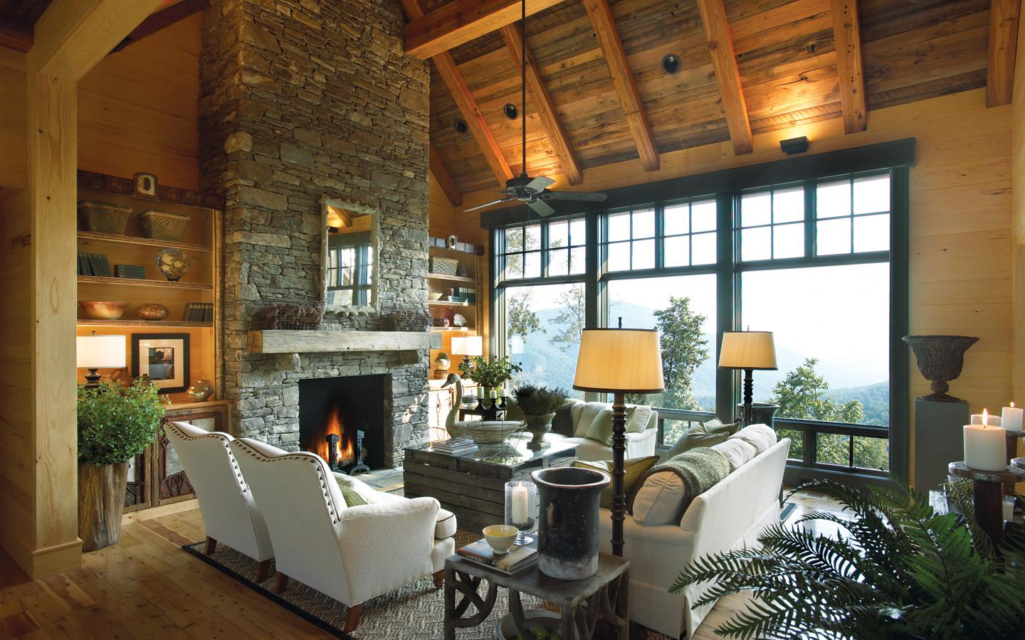 Image of: Rustic Home Design Interior