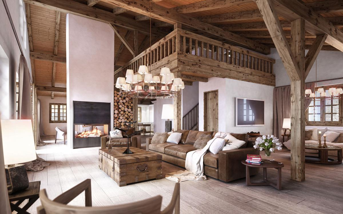 Image of: Rustic Home Design Plans