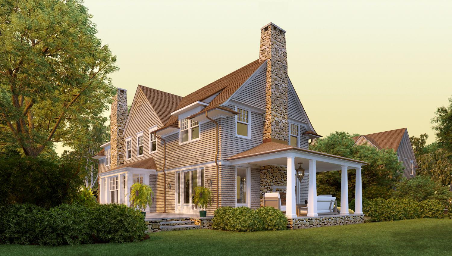 Image of: Shingle Style Homes