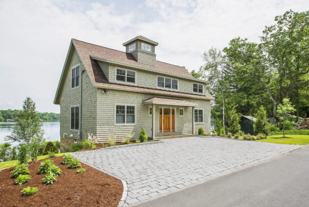 Image of: Shingle Style House Exterior