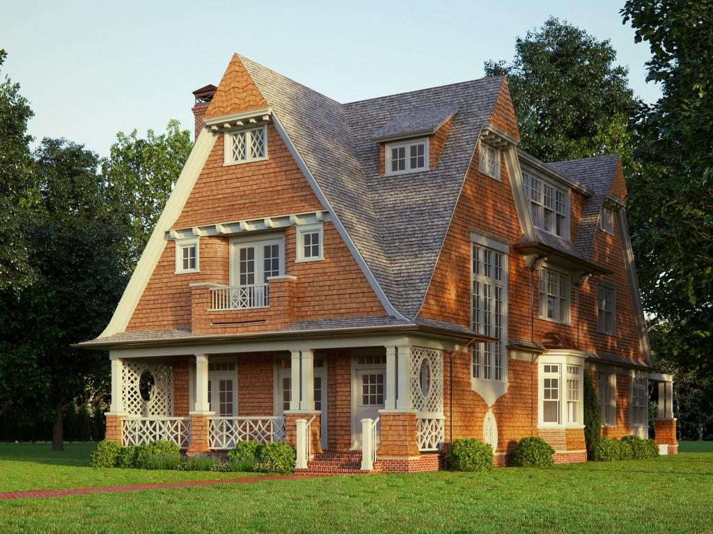 Image of: Shingle Style Houses Ideas