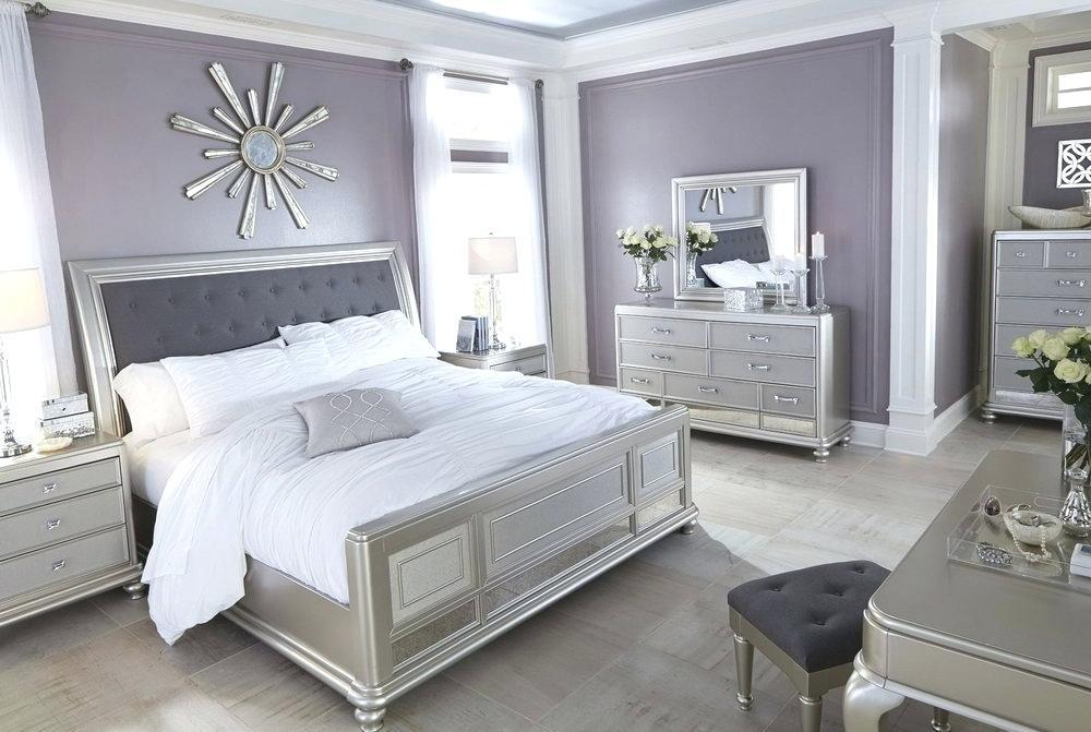 Image of: Silver Bedroom Set Ideas