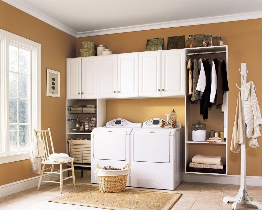 Image of: Simple Cabinets Ideas Laundry Room