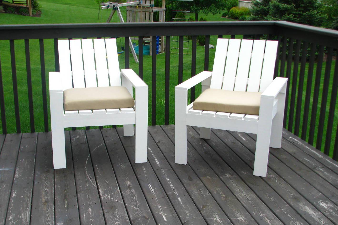 Image of: Simple Diy Outdoor Chair
