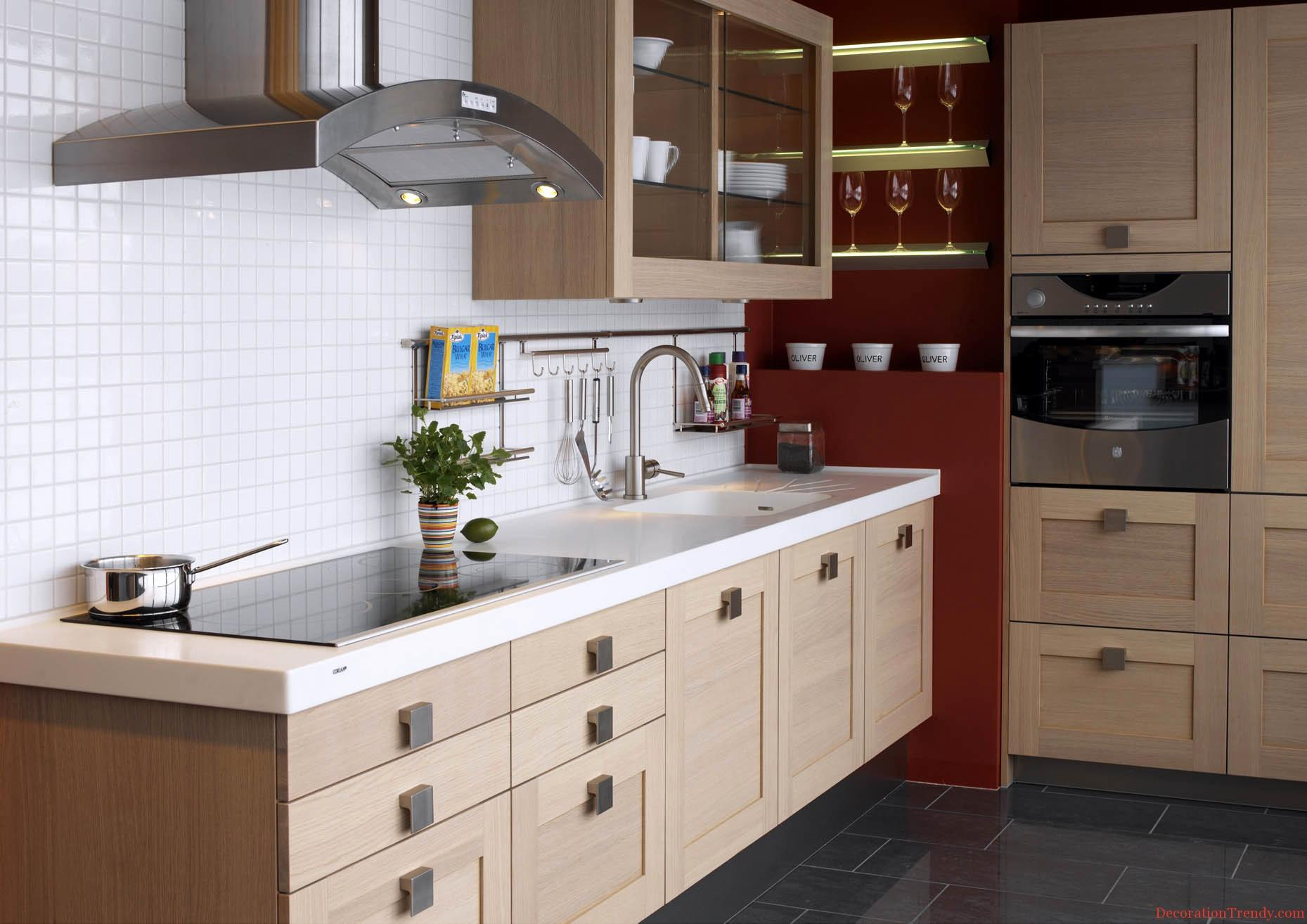 Image of: Simple Kitchen Cabinets Design Ideas