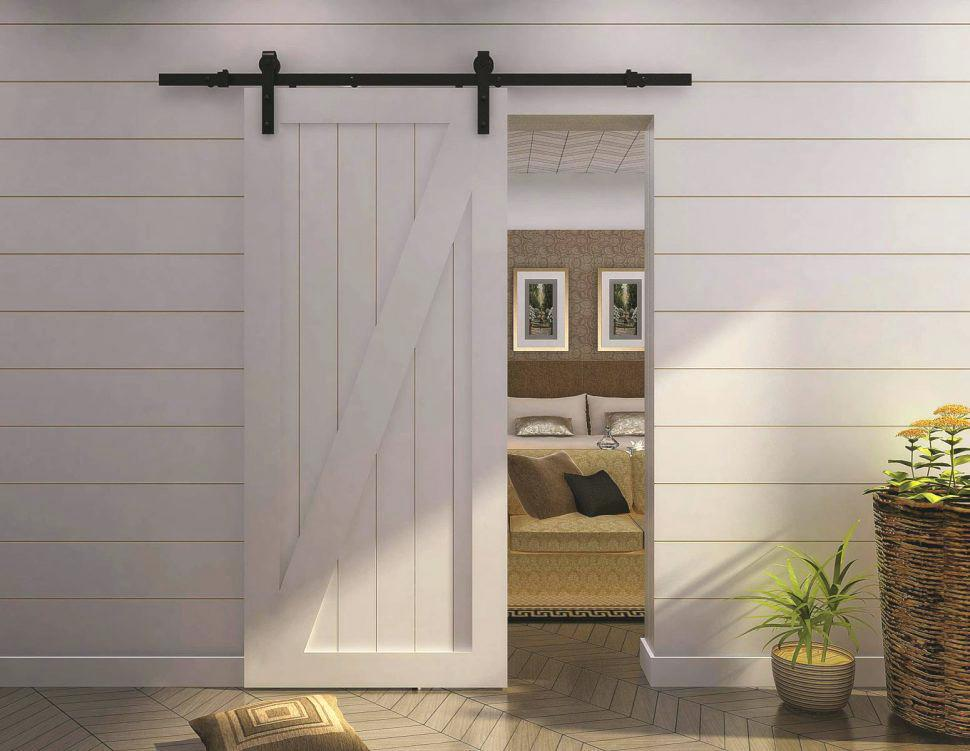 Image of: Sliding Doors For Small Spaces