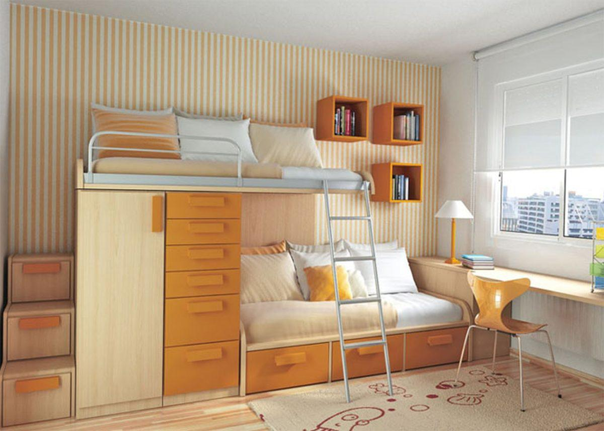 Image of: Small Bedroom Spaces Ideas