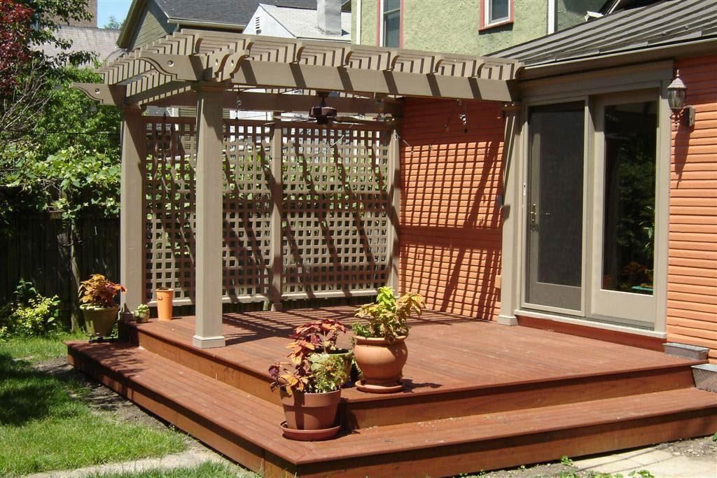 Image of: Small Deck Ideas Diy