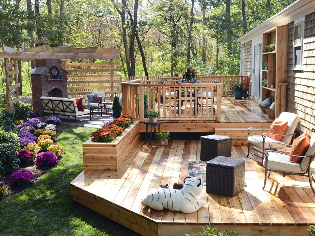 Image of: Small Deck Ideas Plans