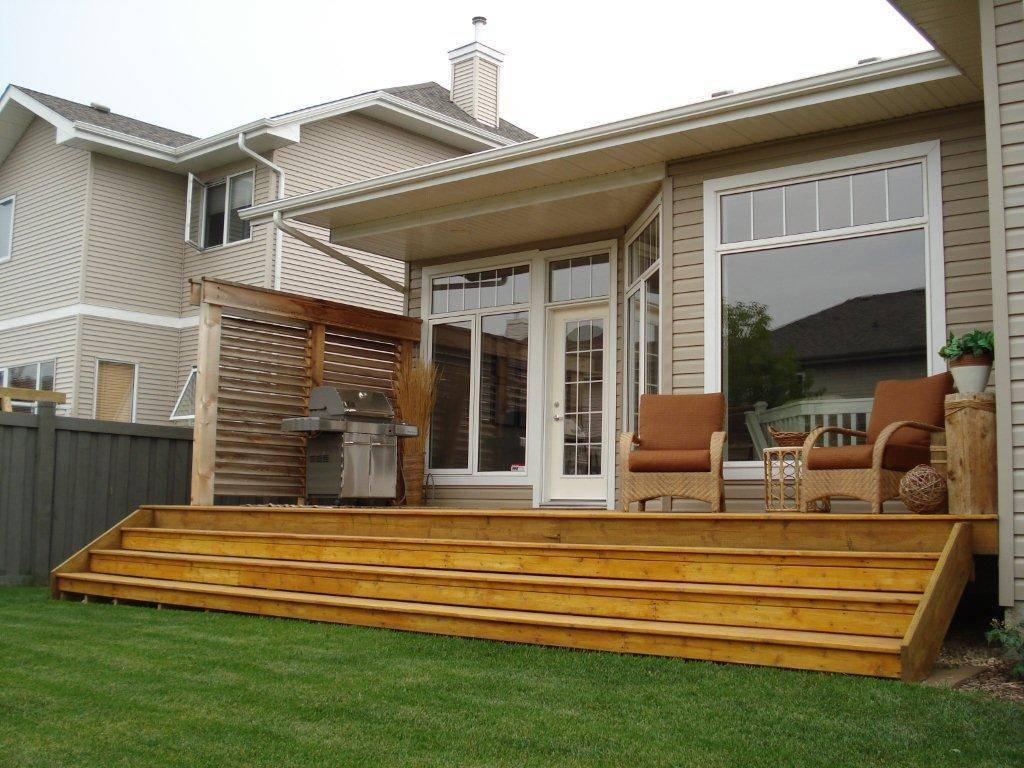 Image of: Small Deck Ideas