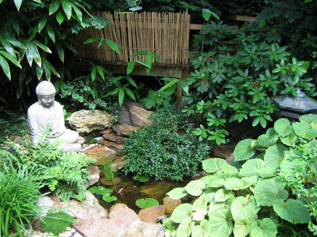 Image of: Small Japanese Garden Designs