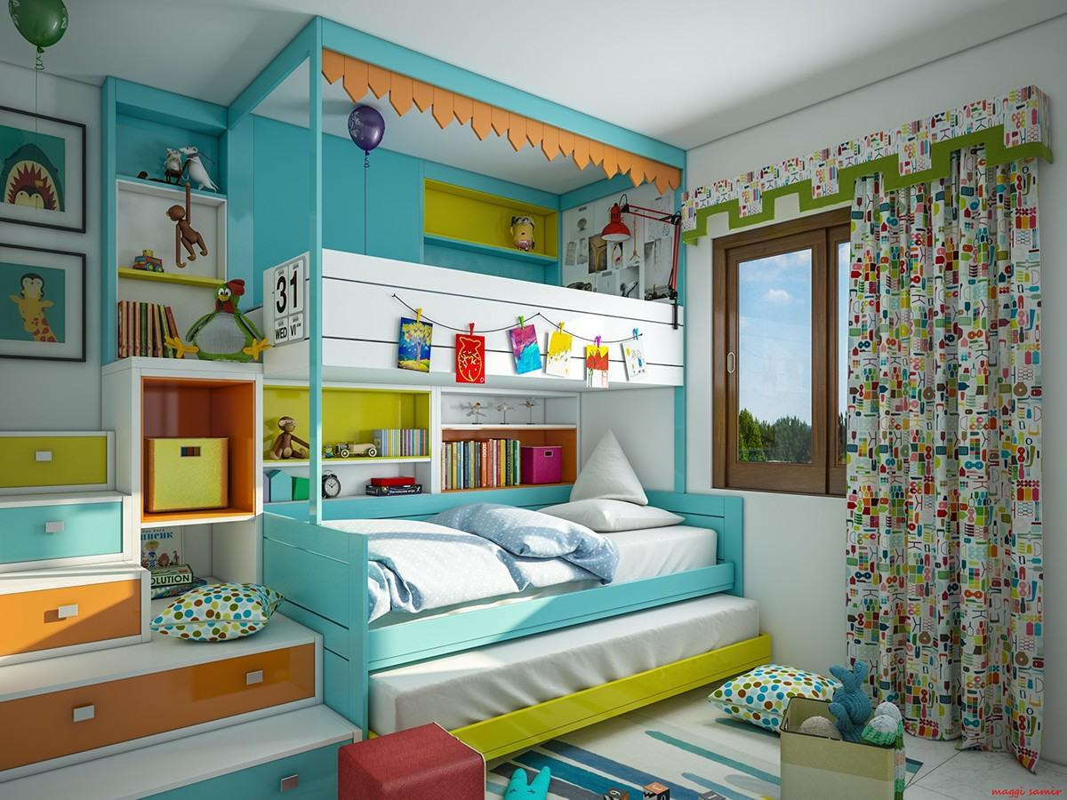 Image of: Small Kid Room Design