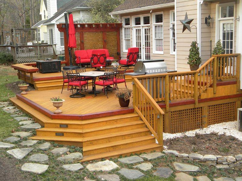 Image of: Small Patio Deck Decorating Ideas