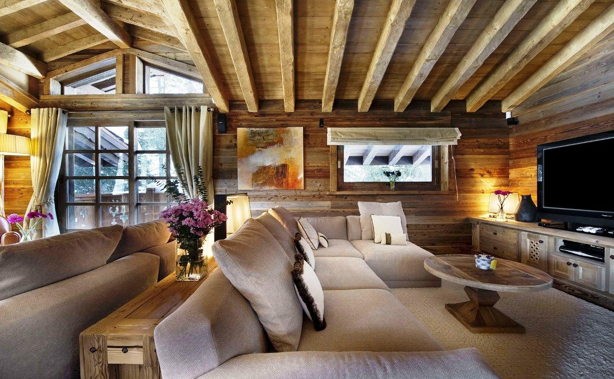 Image of: Small Wooden House Decoration