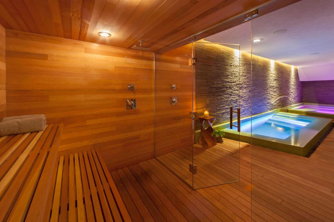 Image of: Steam Sauna For Home