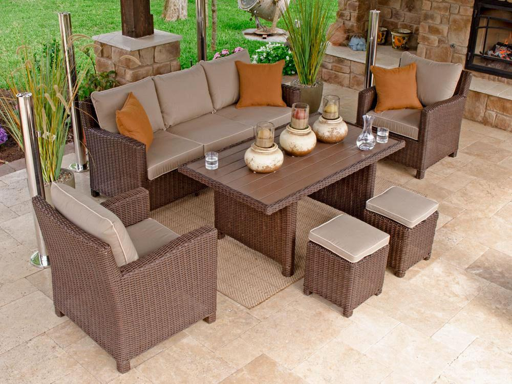 Image of: Stylish Garden Furniture