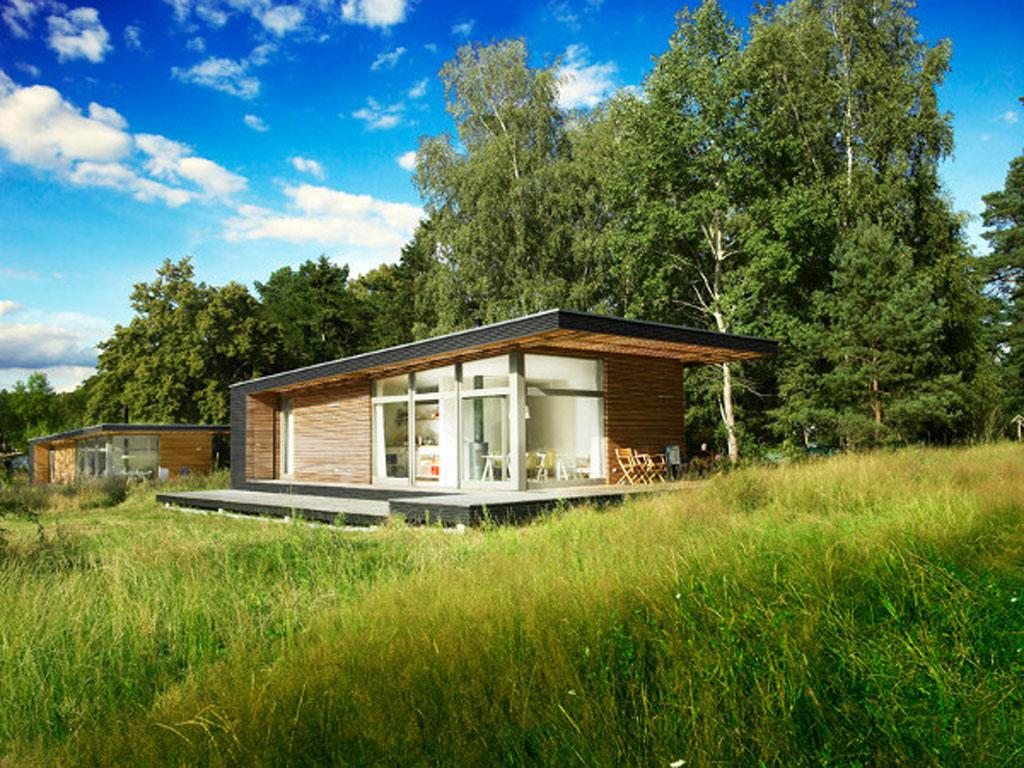 Image of: Summer House Construction Plans