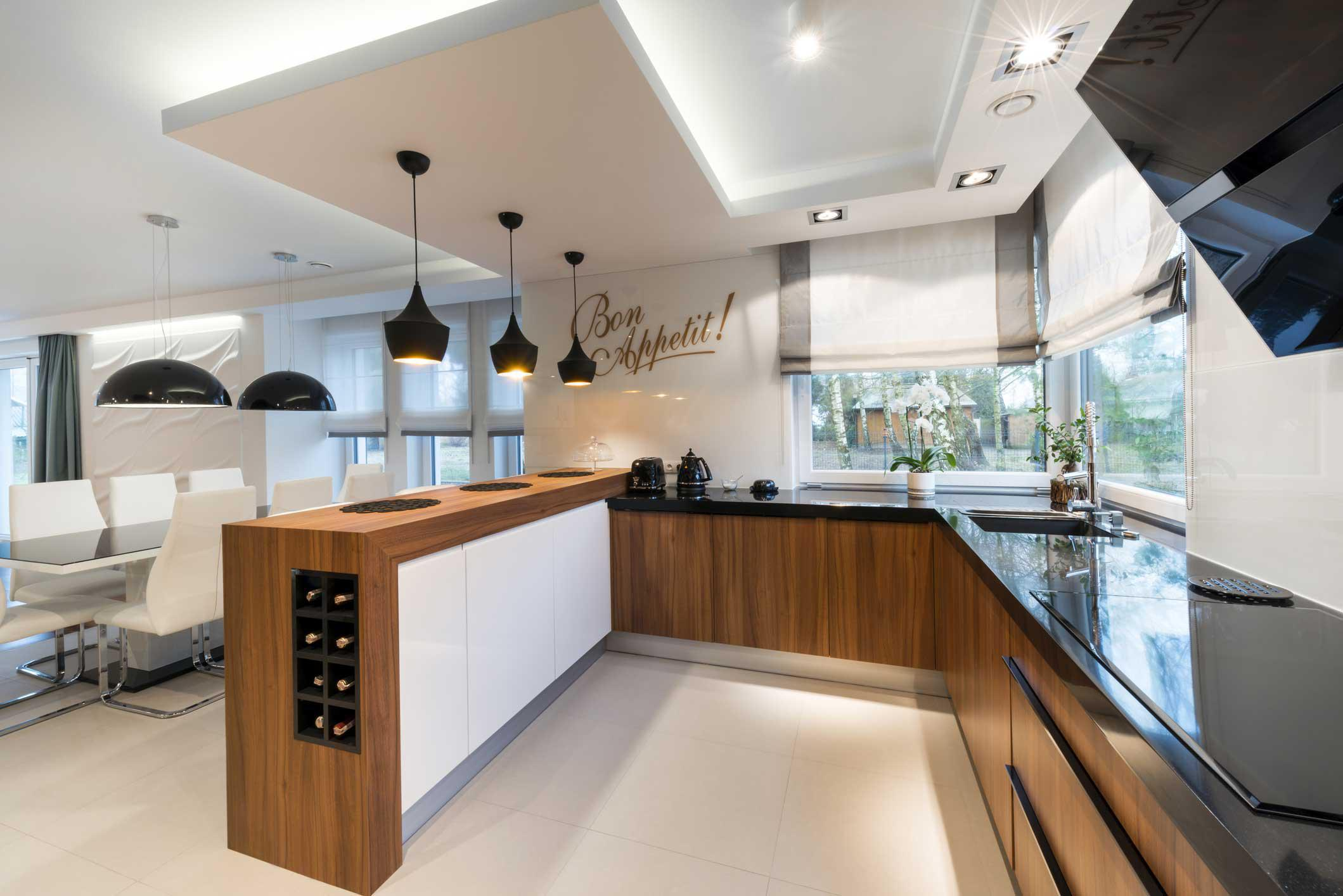 Image of: Tips For Planning Kitchen Lighting