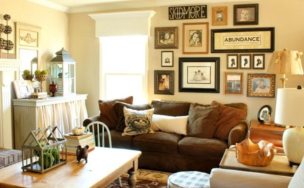 Image of: Tips On Decorating With Family Photos