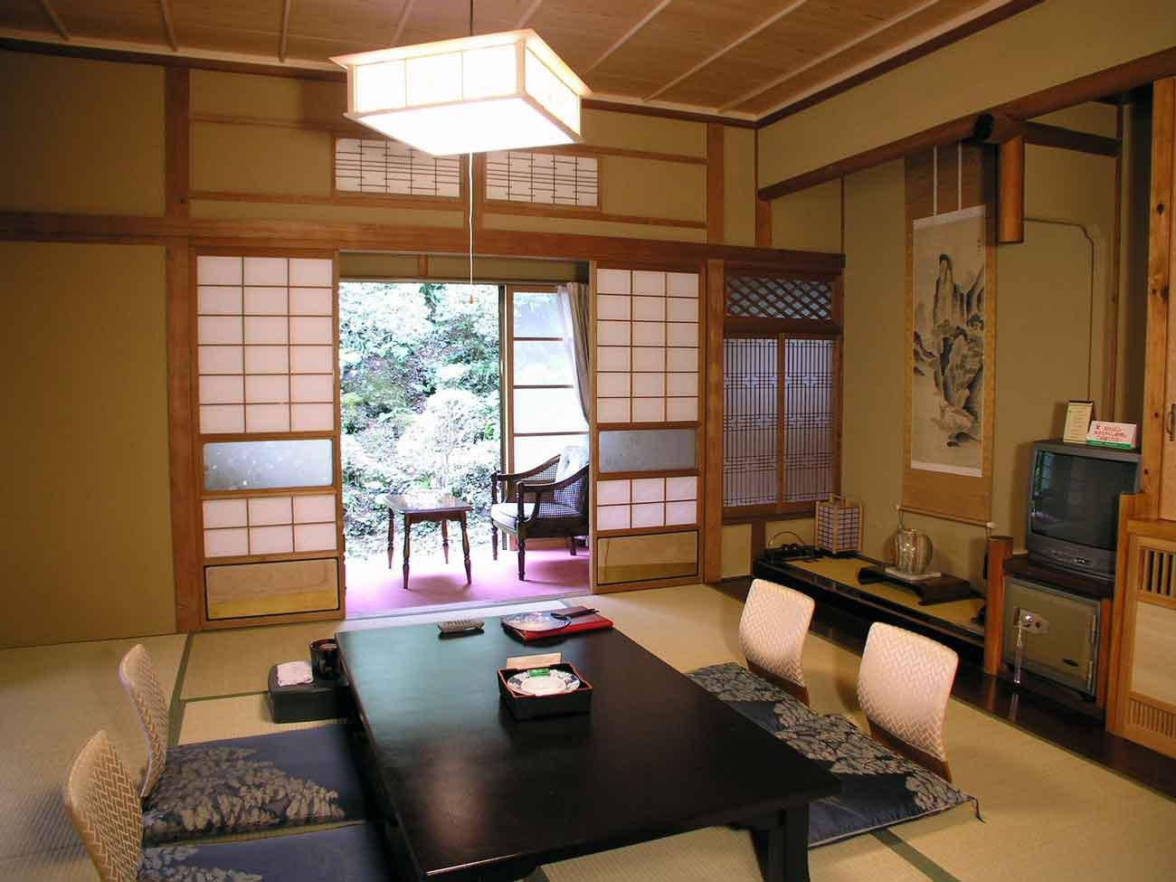 Image of: Traditional Japanese House Layout