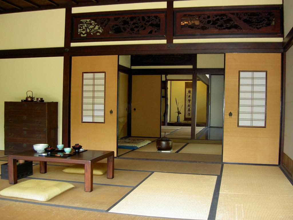 Image of: Traditional Japanese House Plans