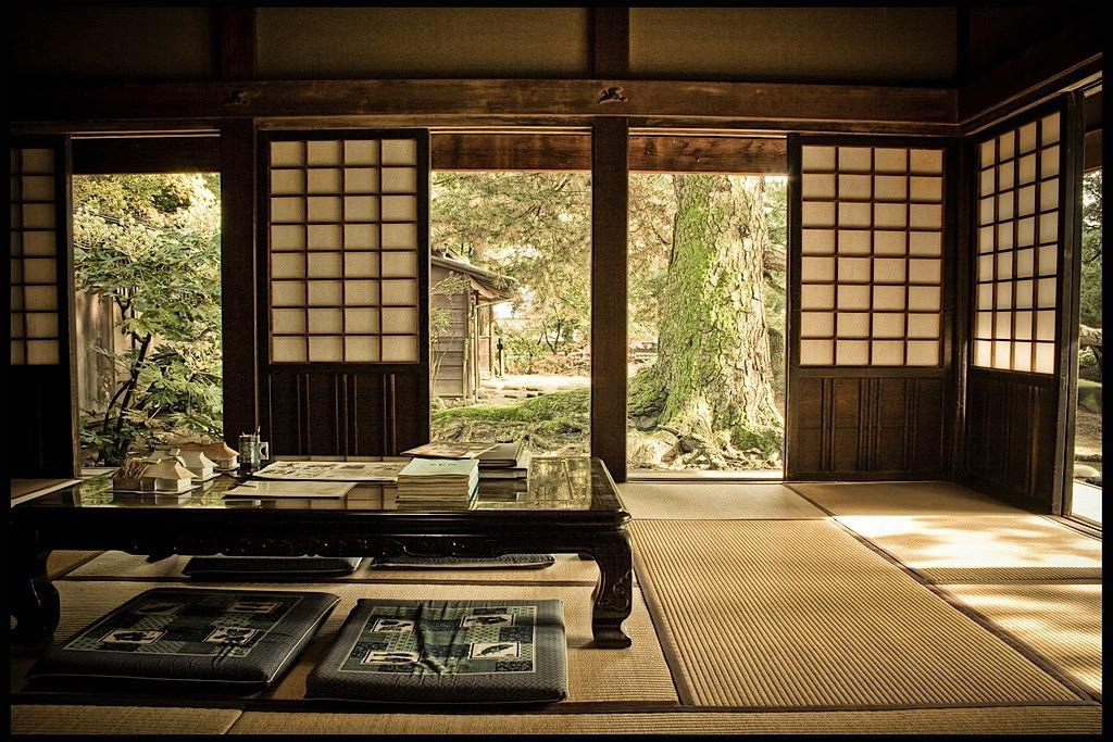 Image of: Traditional Japanese House Style