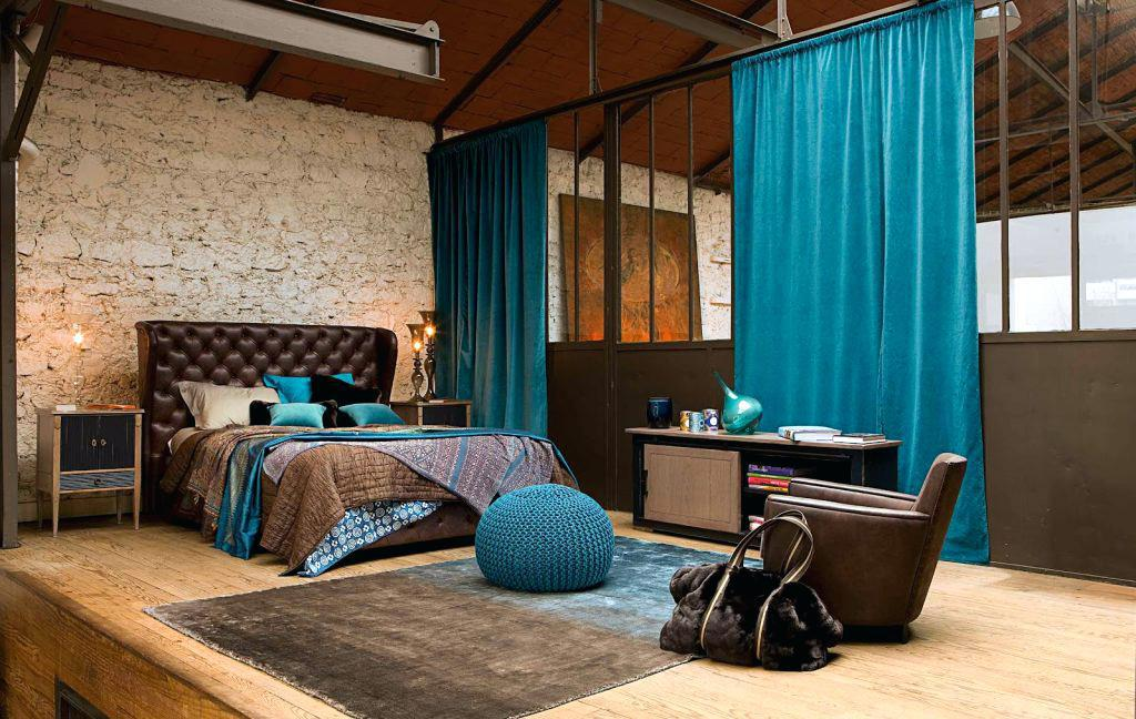 Image of: Turquoise And Brown Bedroom Ideas