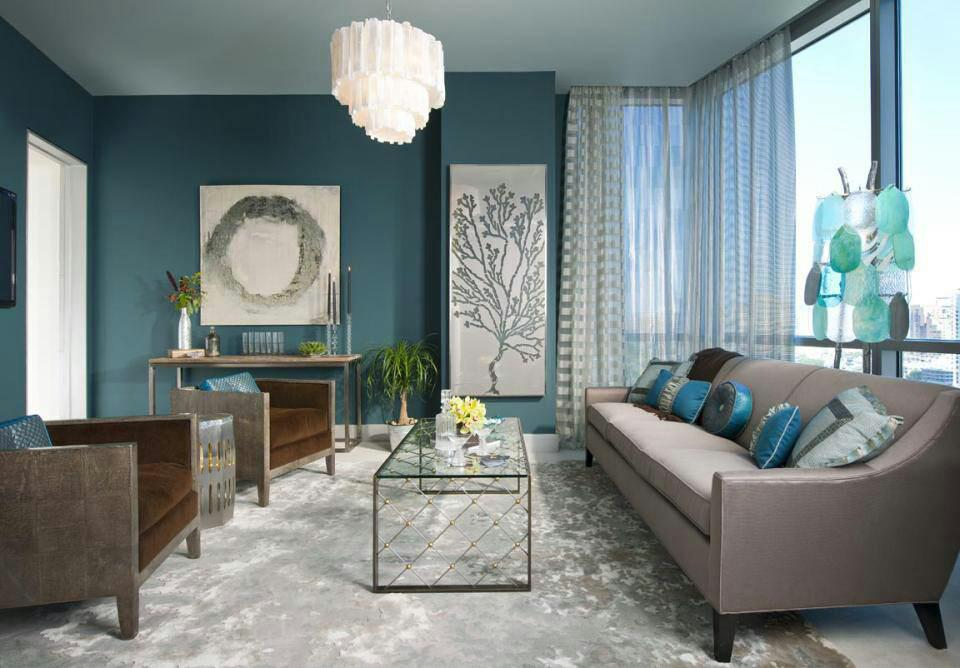 Turquoise Interiors Design Ideas