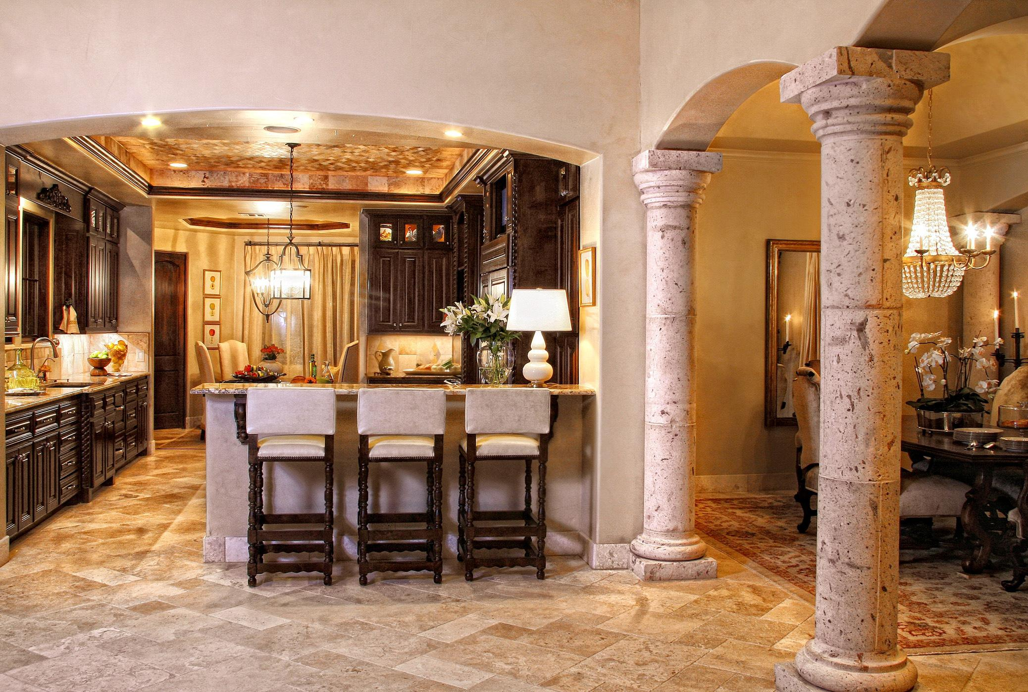Image of: Tuscan Kitchen Ideas On A Budget