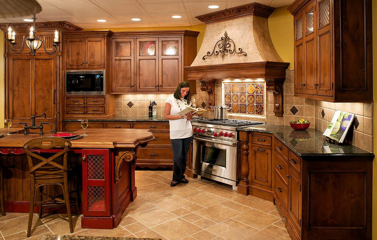 Image of: Tuscan Themed Kitchen Ideas